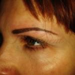 permanentny makeup obocia 3D ciarkovane